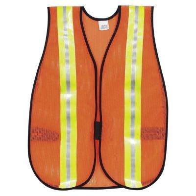 Reflective Fluorescent Safety Vest