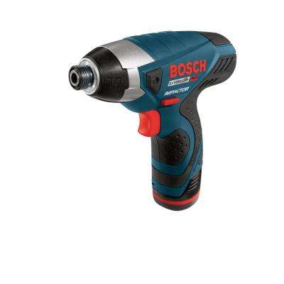 Factory Reconditioned Impact Pocket Driver with 2 Batteries