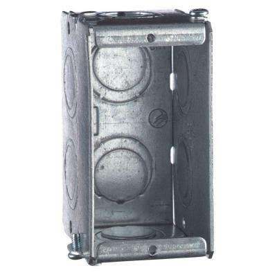 Gang-Able Steel Switch/Outlet Box (20 per Case)