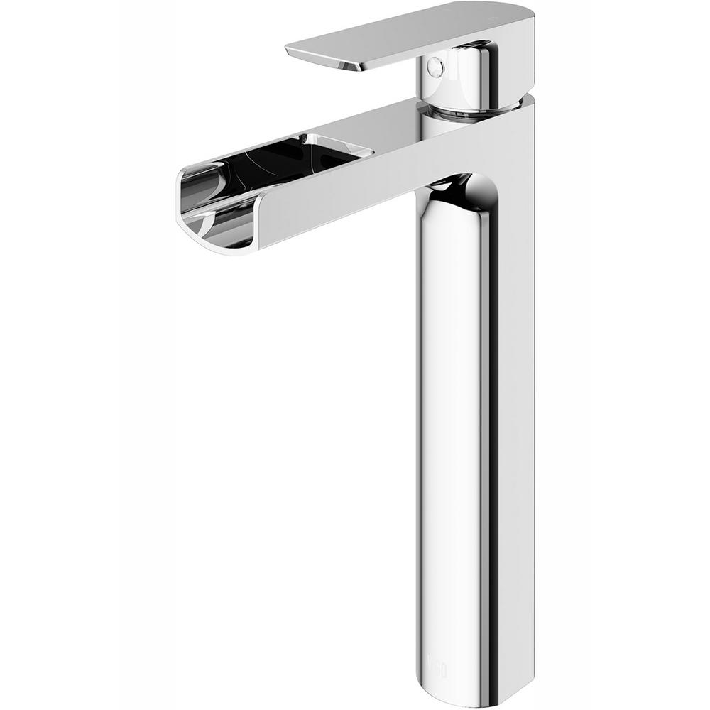 Vigo Amada Single Hole Single Handle Vessel Bathroom