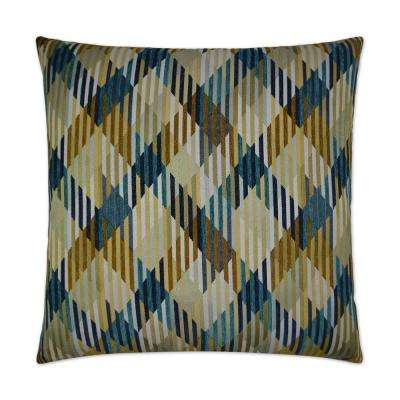 Machado Feather Down 24 in. x 24 in. Standard Decorative Throw Pillow