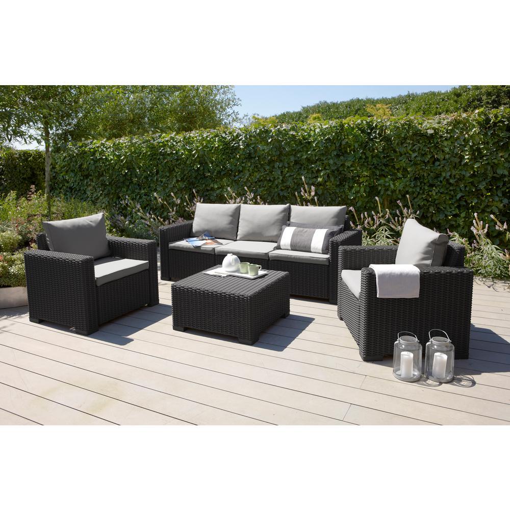 Plastic Wicker Outdoor Lounge Chair