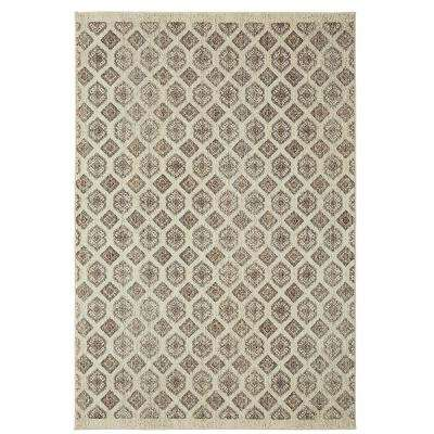 Majorca Sea By Under The Canopy 8 ft. x 10 ft. Area Rug