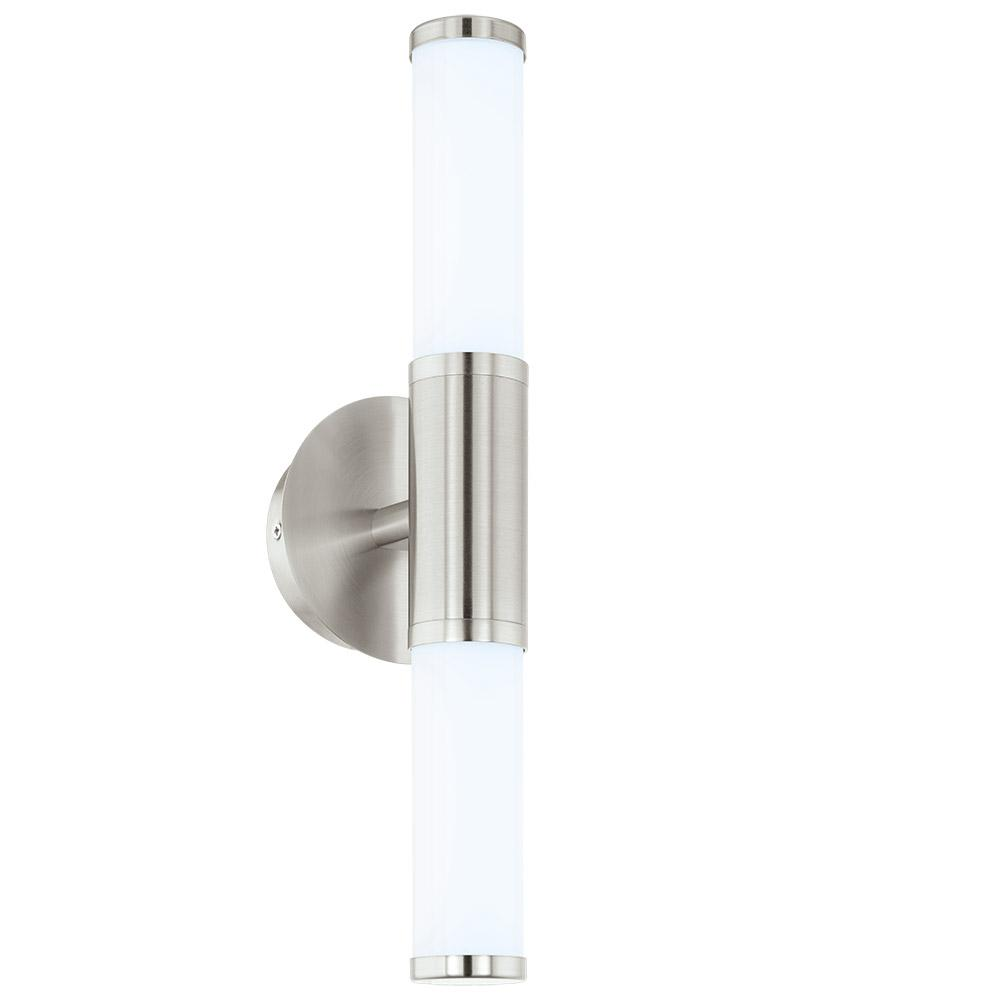 Palmera 1 60-Watt Satin Nickel Integrated LED Bath Light
