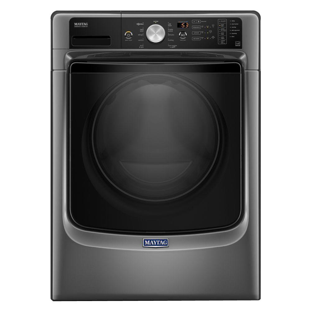 4.5 cu. ft. High-Efficiency Front Load Washer with Steam in Metallic