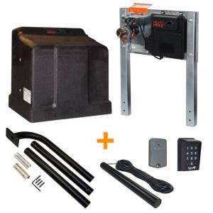Mighty Mule Heavy Duty Single Slide Electric Gate Opener Access Package by Mighty Mule