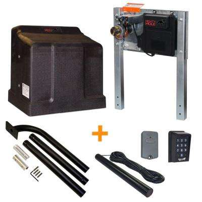 Heavy Duty Single Slide Electric Gate Opener Access Package