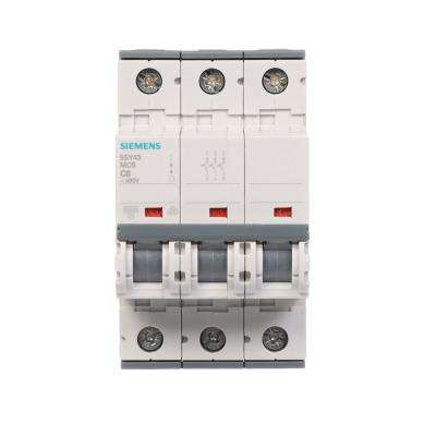 6 Amp Triple-Pole Circuit Breaker Tripping Characteristic C Supplementary Protector