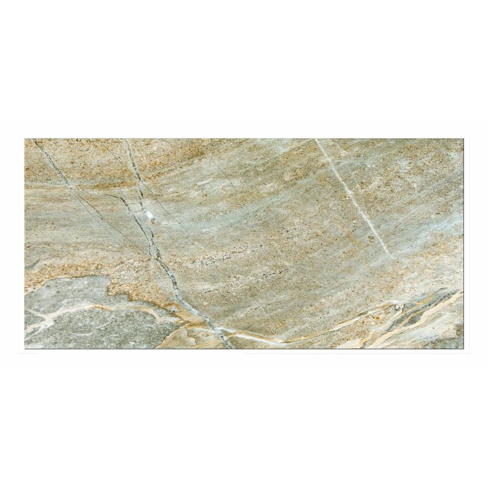Denver Grigio 12 in. x 24 in. Porcelain Floor and Wall