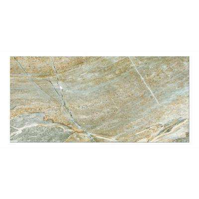Denver Grigio 12 in. x 24 in. Porcelain Floor and Wall Tile (16.68 sq. ft. / case)