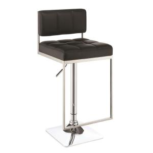 Phenomenal Rec Room Adjustable Black Low Back No Arms Bar Stool Ibusinesslaw Wood Chair Design Ideas Ibusinesslaworg