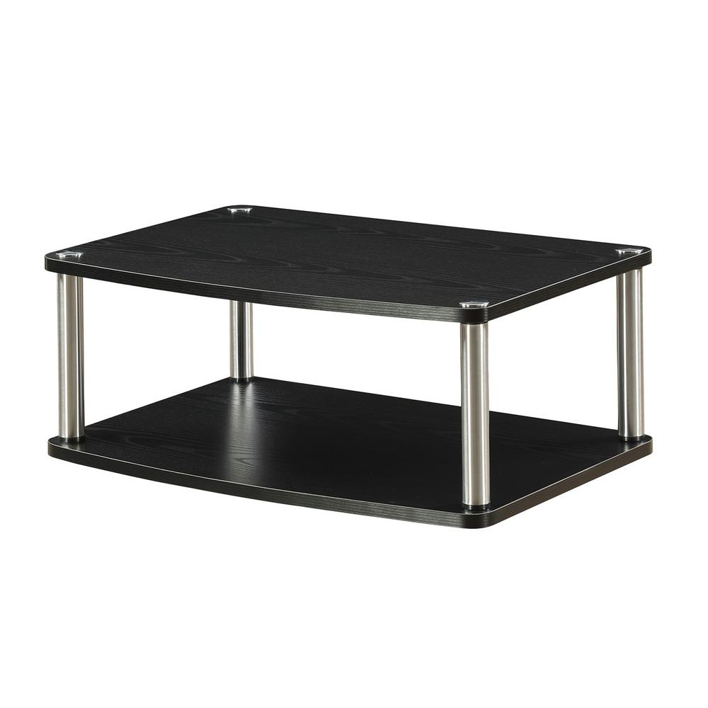 Convenience Concepts Designs-2-Go 2-Tier TV and Monitor Swivel Stand