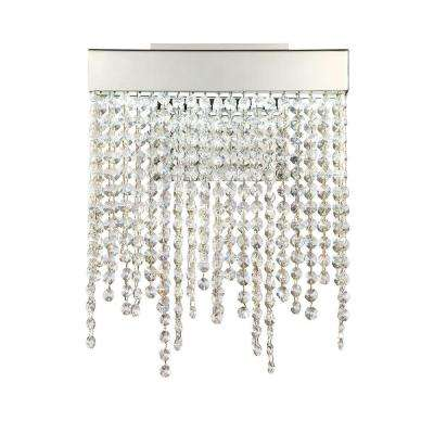 Rossi Collection 1-Light Chrome LED Wall Sconce