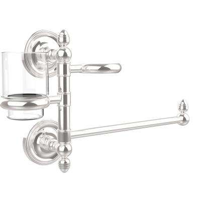 Prestige Regal Collection Hair Dryer Holder and Organizer in Polished Chrome