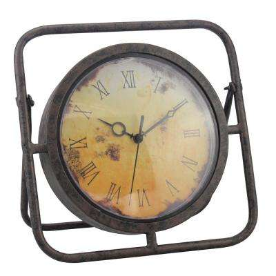 10 in. x 2 in. Tabletop Clock