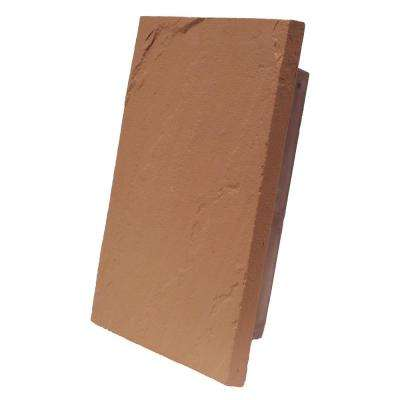 Sandstone Red 10 in. x 13 in. Faux Polyurethane Large Universal Mounting Block