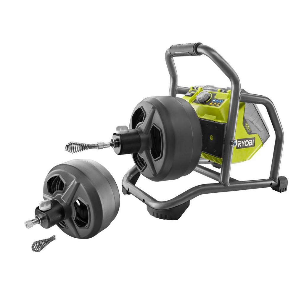 RYOBI 18-Volt ONE+ Hybrid Drain Auger Kit w/ 50 ft. Cable, Battery, Charger, & Accessories with 50 ft. Auger Replacement Drum was $458.0 now $364.0 (21.0% off)
