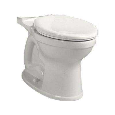 Champion 4 High Efficiency Tall Height Elongated Toilet Bowl Only in White