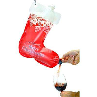 2.0 Stocking Wine Dispenser Flask