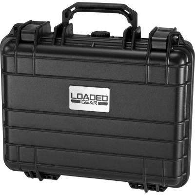 Loaded Gear 13 in. HD-200 Hard Case, Black