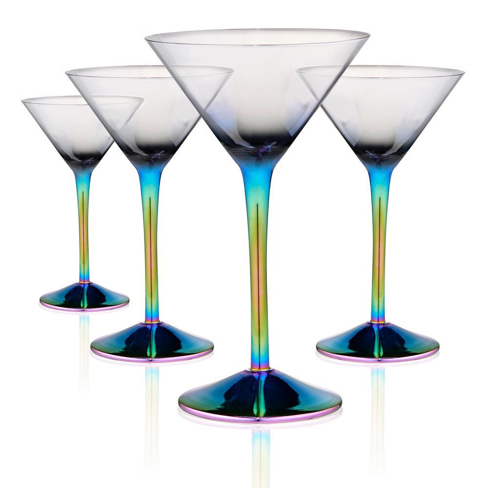 Visol Charlotte Stainless Steel Martini Glass