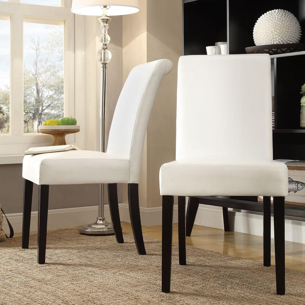 dining chairs faux leather