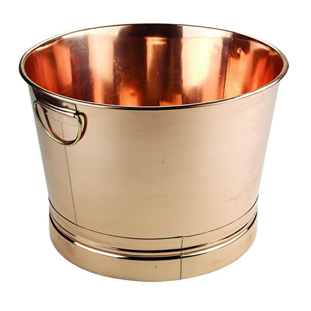 Old Dutch 7.75 Gal. Round Decor Copper Party Tub