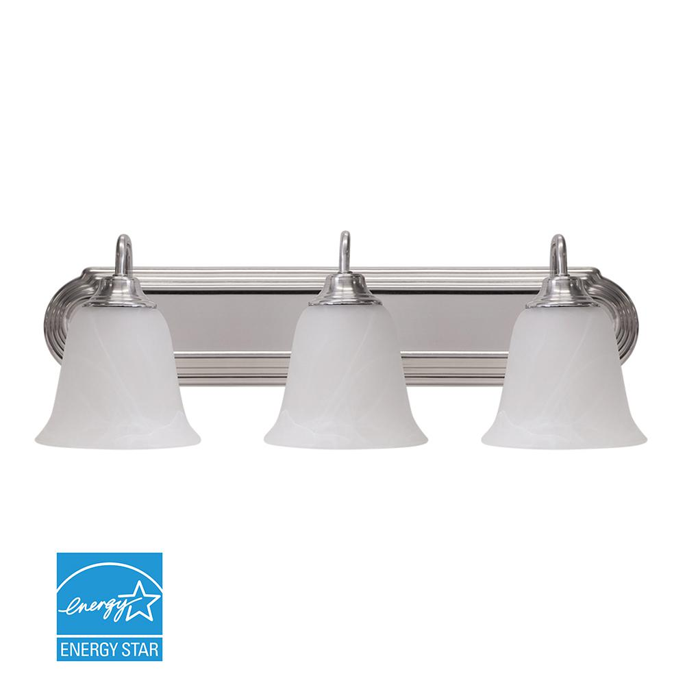 Euri Lighting 24 in. Silver LED Vanity Light Bar