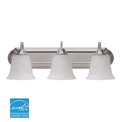 24 in. Silver LED Vanity Light Bar