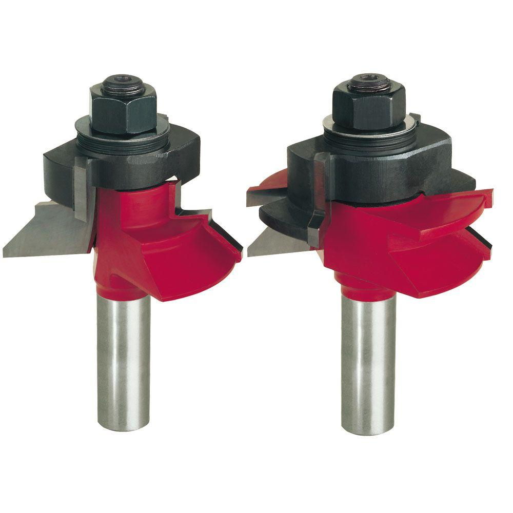 2-11/64 in. V-Panel Router Bit Set