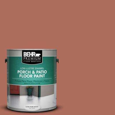 1 gal. #PPU2-12 Terra Cotta Urn Low-Lustre Porch and Patio Floor Paint