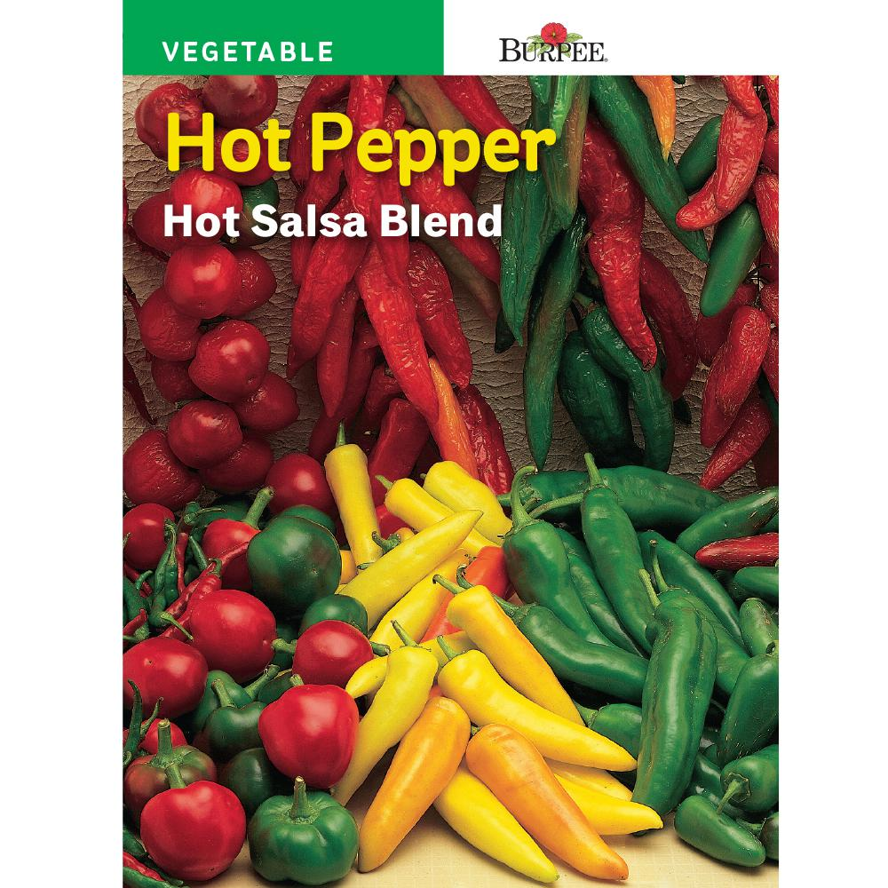 Burpee Pepper Hot Mix Seed 55905 The Home Depot