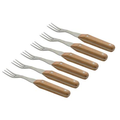 Collect and Cook Stainless Steel Steak Fork (Set of 6)