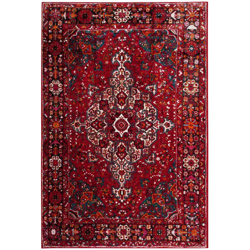 Safavieh Vintage Hamadan Red Multi 9 Ft