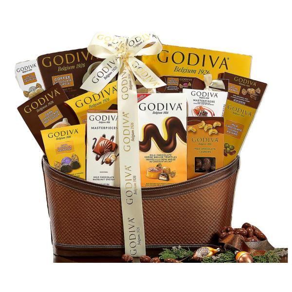 Wine Country Gift Baskets Godiva Wishes Chocolatier Classic Ribbon Signature
