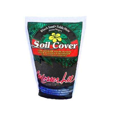5 lb. Black Sand Soil Cover