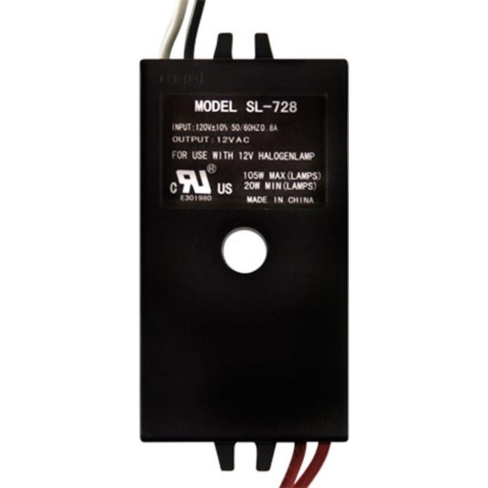 Triac 105-Watt Black Indoor and Outdoor Low Voltage Transformer