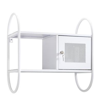 HomeVisions White Wall Cabinet