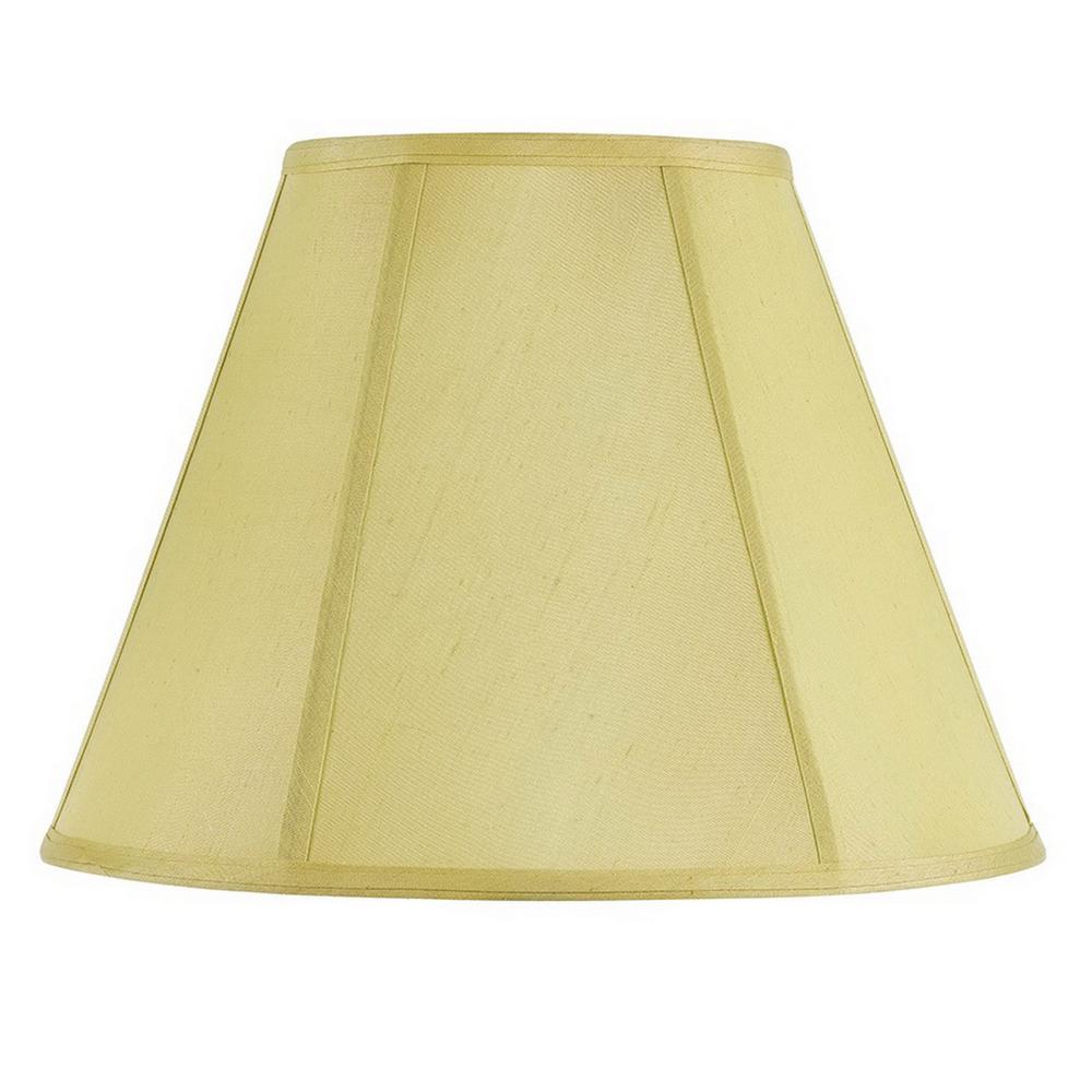13 in. Cream Fabric Empire Lamp Shade