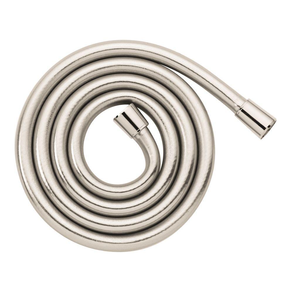 Techniflex 1/2 in. x 80 in. Shower Hose in Polished Nickel