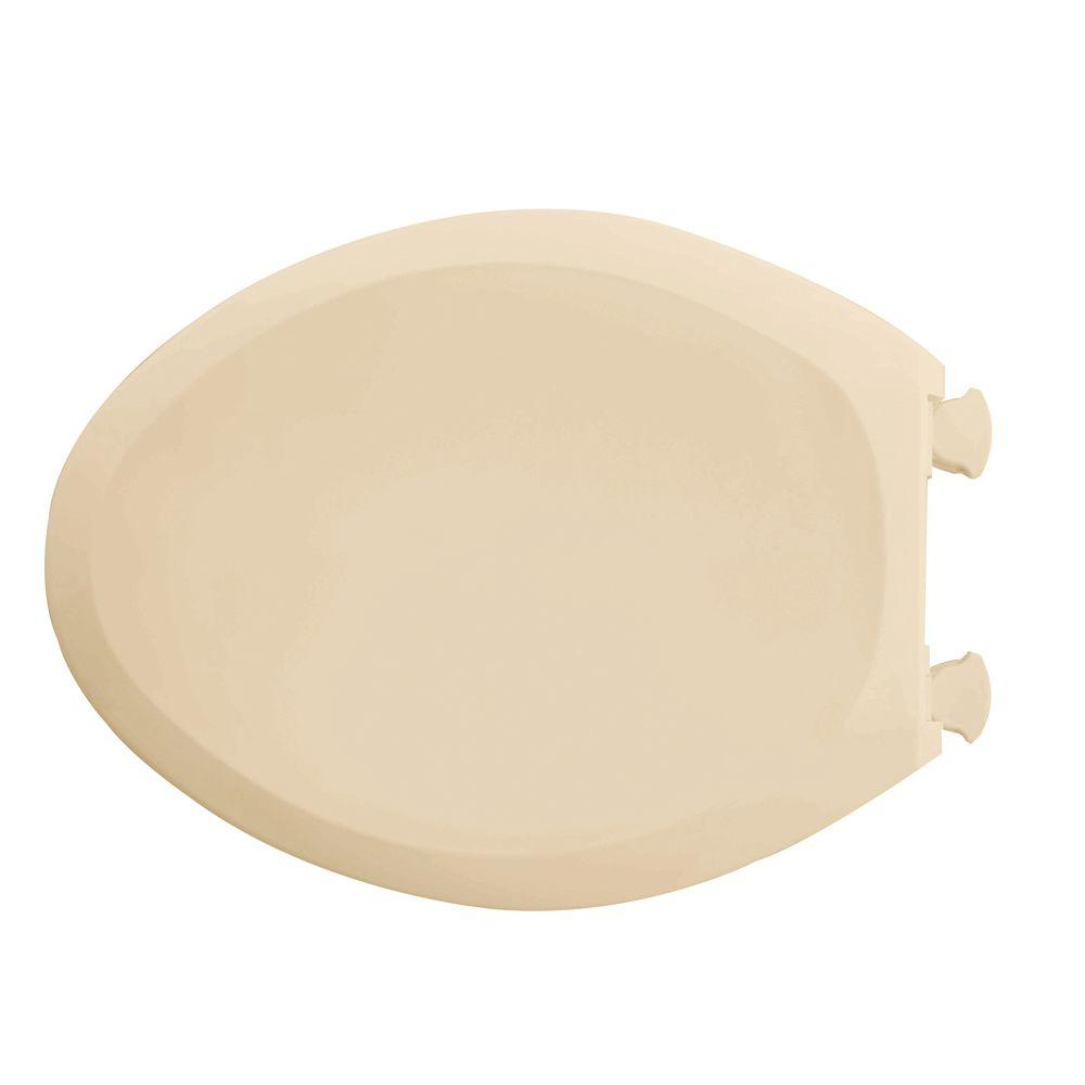 Elongated Toilet Seat Plastic Lid Soft Snap Quiet Slow