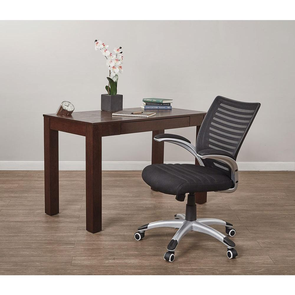 Work Smart Black Manager Screen Back Office Chair