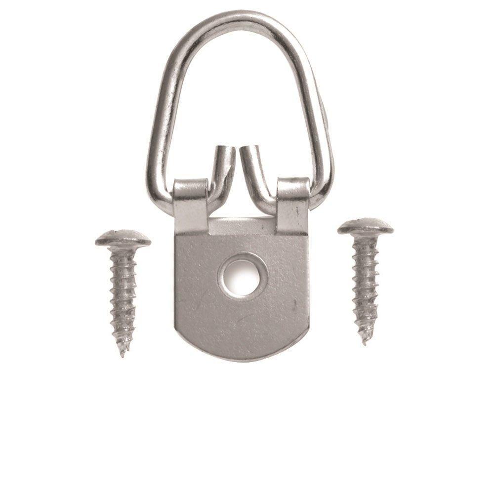 50 lb. 1 Hole D Ring Hanger (50-Pack)