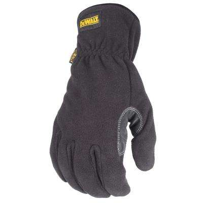 Cold Weather Fleece with Palm Protection Performance Work Glove - Large