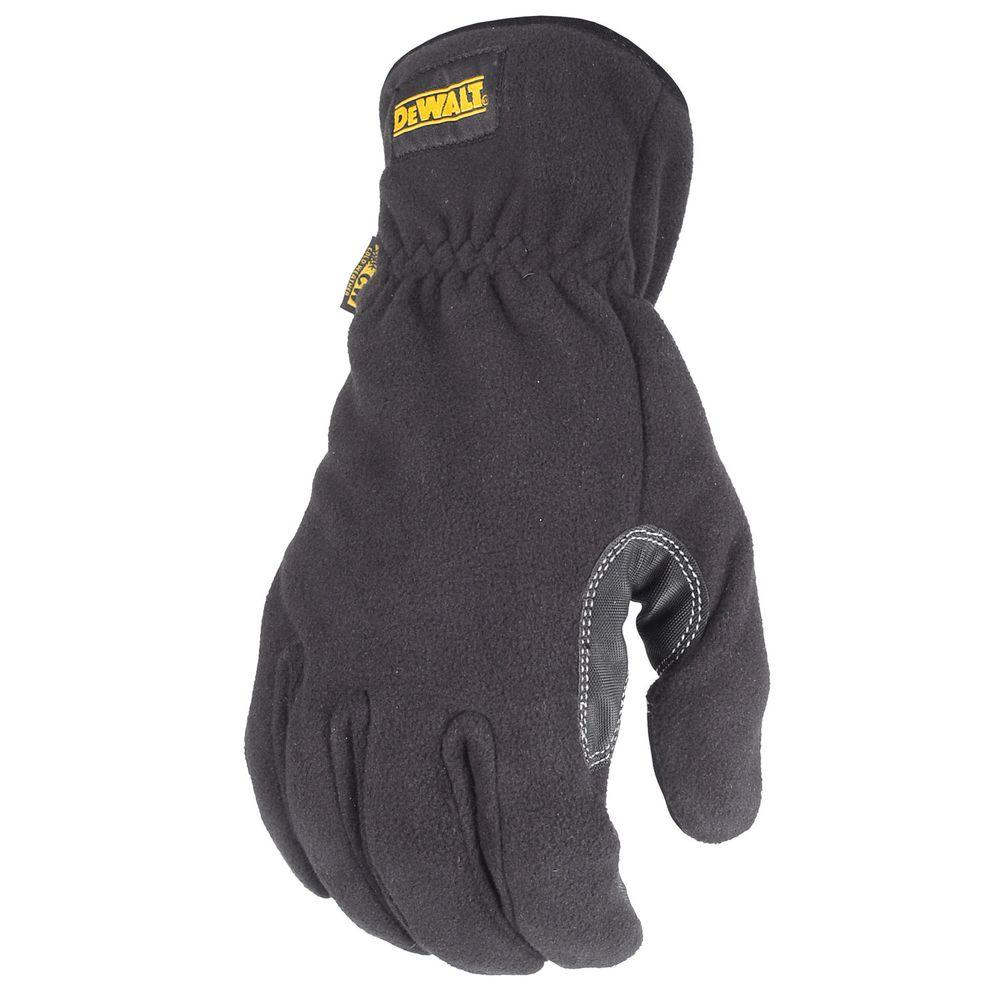 DEWALT Cold Weather Fleece with Palm Protection Performance Work Glove - Small-DISCONTINUED