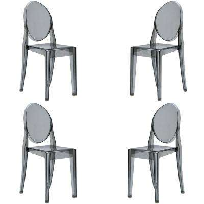Burton Side Chair In Smoke (Set of 4)