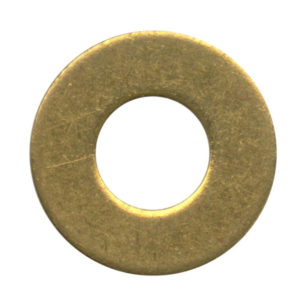 Crown Bolt 1/2 in. Brass Flat Washer-36841 - The Home Depot