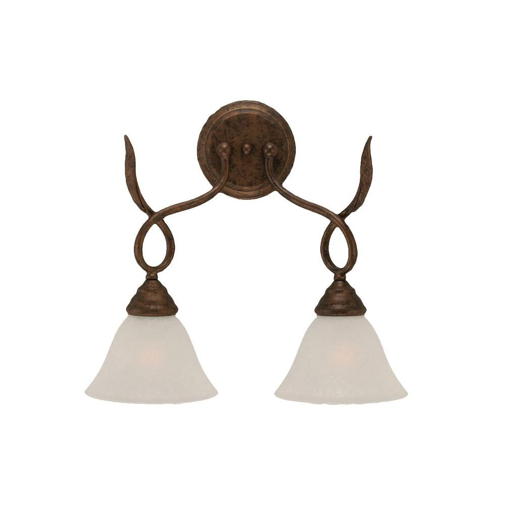 Concord 2-Light Bronze Sconce