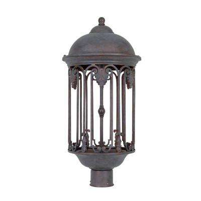 Dark Sky 11 in. Old Bronze Outdoor Post Light