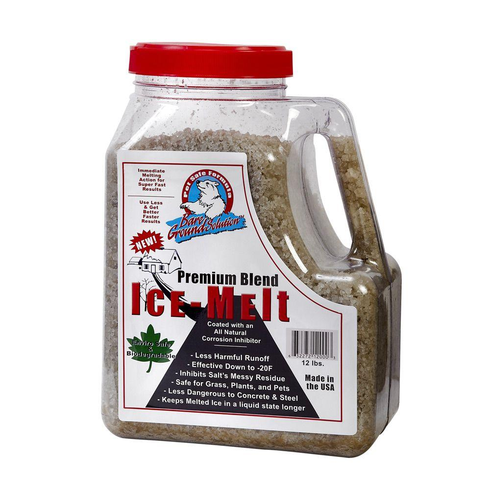 Bare Ground 1 Gal. Premium Blend Ice Melt